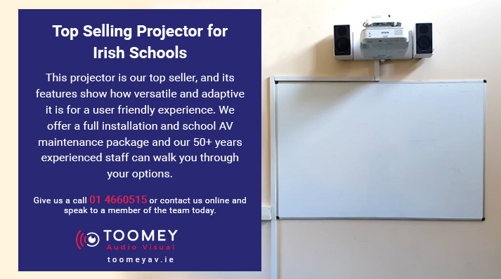 Top Selling Projector Irish Schools - Toomey AV