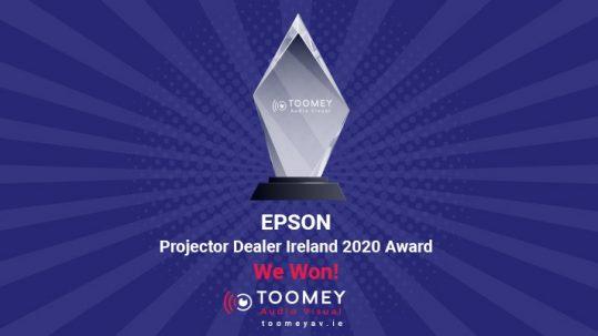 EPSON - Projector Dealer Ireland 2020 Award - Toomey