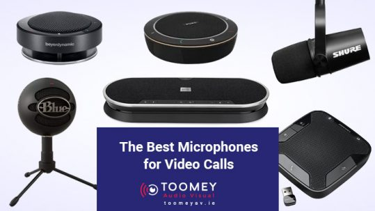 The best microphones for video calls - Audio Visual Dublin