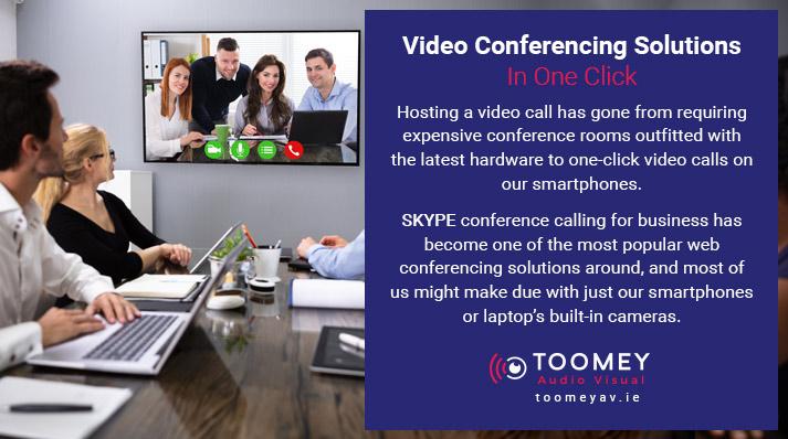 Video Conferencing Solutions - Microphones - Toomey AV Irealnd