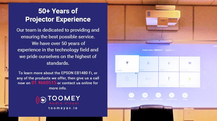Experienced AV Company Projectors Irish Schools - Toomey AV