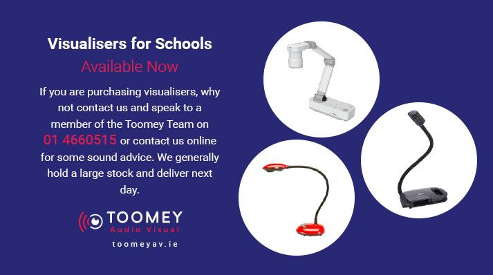 Visualiser for Schools - Toomey AV Ireland
