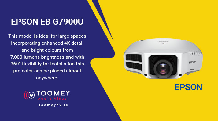 Projectors Schools - EPSON G7900U - Audiovisual Providers Ireland