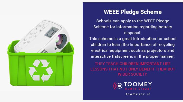 WEEE Pledge Scheme - Toomey Audiovisual